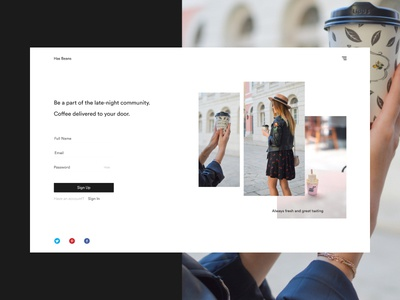 Hello Dribbble! minimal debut shot first design web ux ui