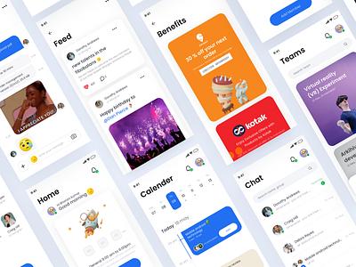Team Management app minimalistic mobile management team graphic design design contemporary colorful ux ui mobileui