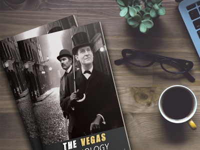 The Vegas Anthology Book Cover ui ux minimal createspace cover illustration design ebook cover book cover page design fantasy book cover book cover mockup