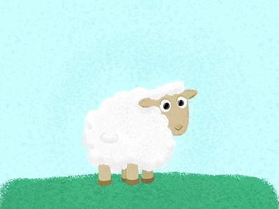 Sheep affinity designer sheep illustration