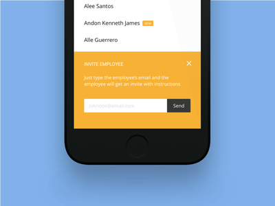 Mobile Sign up ux ui signup mobile ios