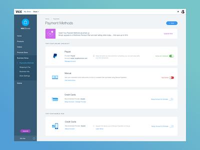 Payment dashboard UI dashbaord setup productdesign payments ui ux