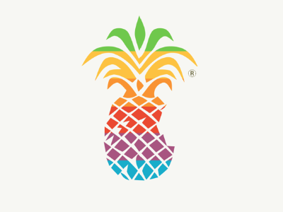 Pineapple Classic Apple Logo