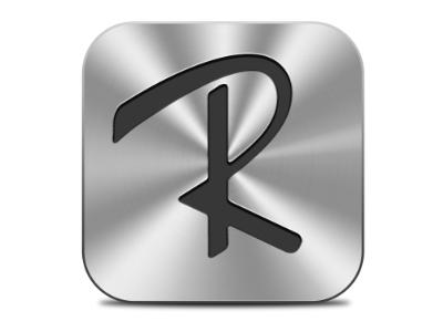 Icloud R Logo By Robin Bailey Dribbble
