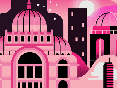 CDMX. Bellas Artes city vector bellas artes flat icon mexico city cdmx