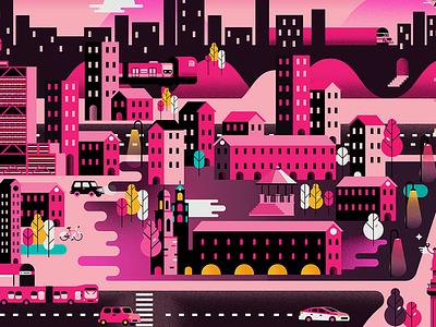 CDMX map city vector bellas artes flat icon mexico city cdmx