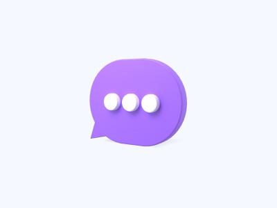 Comment 3D icon comment freebies freebie ui icons 3d icons 3d icon 3d designer 3d design 3d artist 3d art 3d