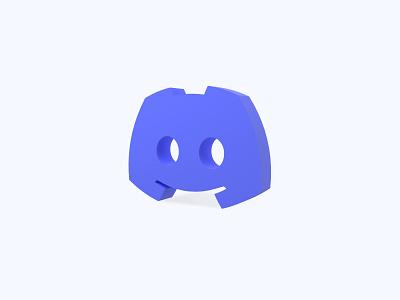 Discord 3D icon discord freebies freebie ui icons 3d icons 3d icon 3d designer 3d design 3d artist 3d art 3d