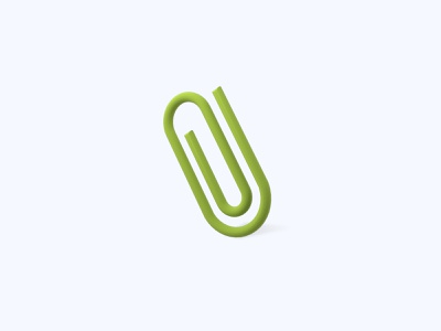 Clip 3D icon clip paper clip freebies freebie ui icon icons 3d icons 3d icon 3d designer 3d design 3d artist 3d art 3d