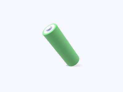 Battery 3D icon battery freebies freebie ui icon icons 3d icons 3d icon 3d designer 3d design 3d artist 3d art 3d