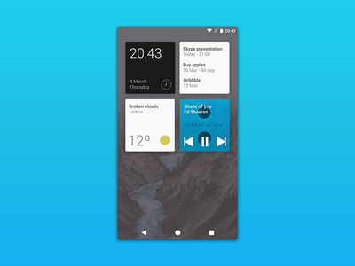 Android Cards UI