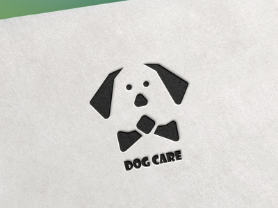 Dog Care design vector illustration graphic design branding logo