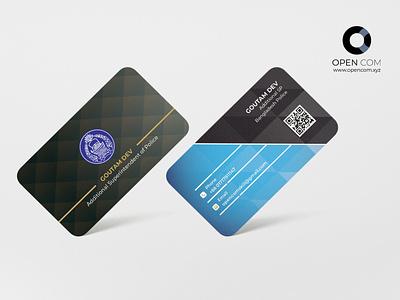 Business Card Design design branding vector illustration