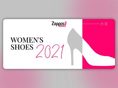 Concept for Zappos e-commerce shop e-commerce design ecommerce e-shop designer uidesign photoshop store web shoes shoes store shop fashion figma adobe photoshop design ui