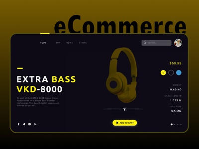 E-Commerce Web website graphic design illustration app animation typography branding design ux ui