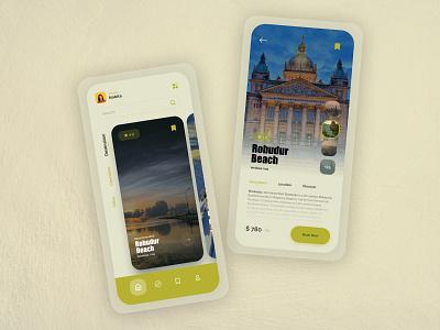 Travel App app uidesign uxdesign uiux appdeveloper webdeveloper tourism travel creative graphics graphic design ux ui appdesigner appdesign webdesigner webdesign