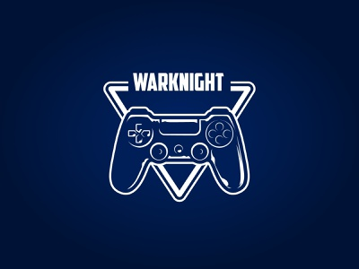 Weekly Warm - retro video-game arcade vector illustration creative design branding graphic design logo