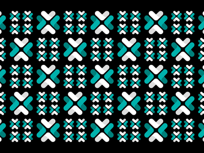 Upstart pattern design 1-1 design illustration abstract seamless geometric brand system branding teal white black upstart pattern