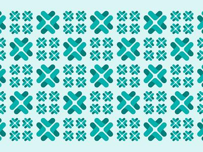 Upstart pattern design 1-2 design illustration abstract seamless geometric brand system branding teal upstart pattern