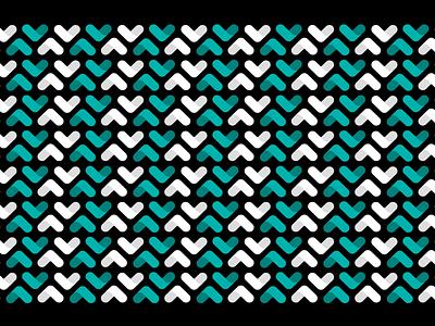 Upstart pattern design 2 design illustration abstract seamless geometric brand system white black branding teal upstart pattern