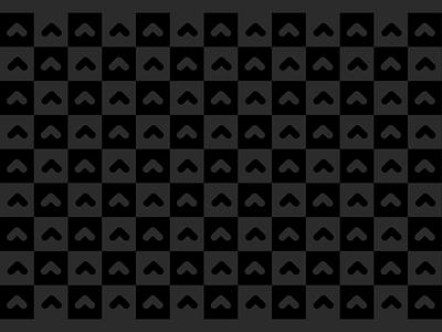 Upstart pattern design 3 blackonblack black design illustration abstract seamless geometric brand system branding teal upstart pattern