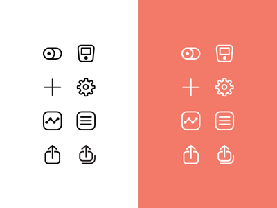 MOCACARE app icon redesigns icons flat mocacare app uiux icon