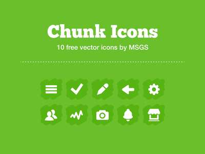 Chunk Icons [freebie]