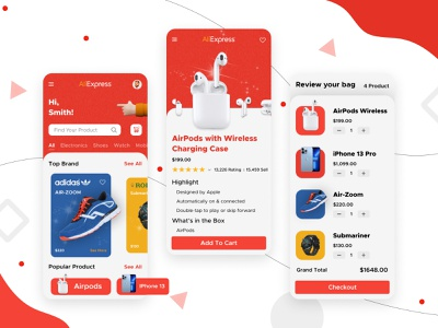 AliExpress Redesign ui android design android app design android app ui  ux adobexd design ios application flutter ux android ui flipkart amazon online shopping e-commerce shopping aliexpress