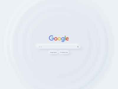 Google UI Neumorphsim