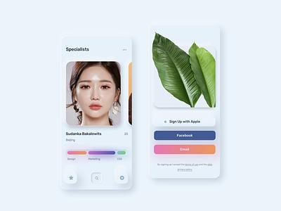 Neuomorph UI Kit future tech art home finance banking glassmorphism neumorphic mininalistic clean app animation design interface ux ui