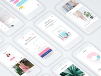 Fludish Screens UI Kit