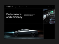 Tesla Cybertruck Concept Animation