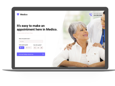 Medico - Book Patient Appointment System