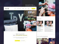 Hair Homepage Concept