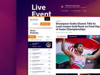 WIP: Wrestling Homepage