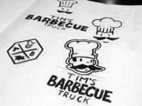 BBQ Truck Identity
