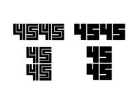 4545 Logo Concepts