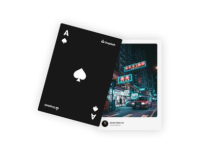 Unsplash Playing Cards playing cards unsplash figma