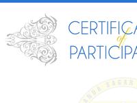 College Hackathon Participation Certificate