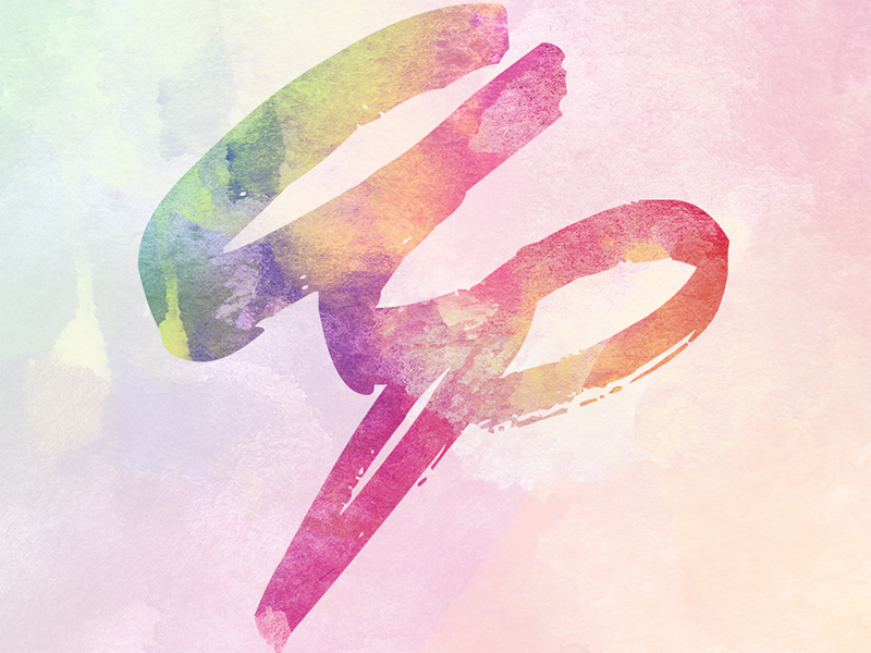 Amruth Pillai Water(color)mark brush typography logo website watercolor branding