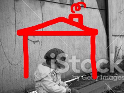 End Homelessness Print Ad
