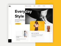 Fashion Homepage