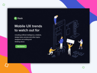 UX trend illustration