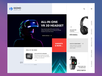 Gadget Homepage - Another variation
