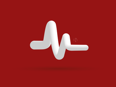 Heart Rate Logo logo cardiology ecg heart rate