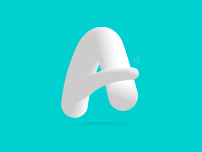 A Logo logotype branding logo