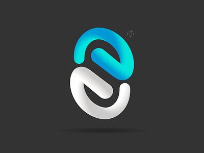 S8 Logo tech branding logo