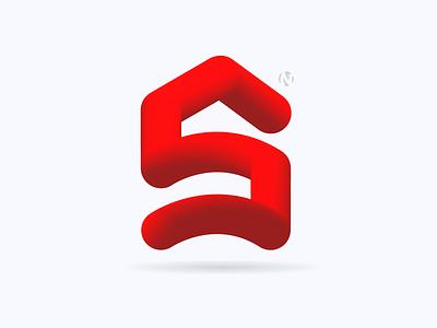 S Home Logo s logo home logo house logo