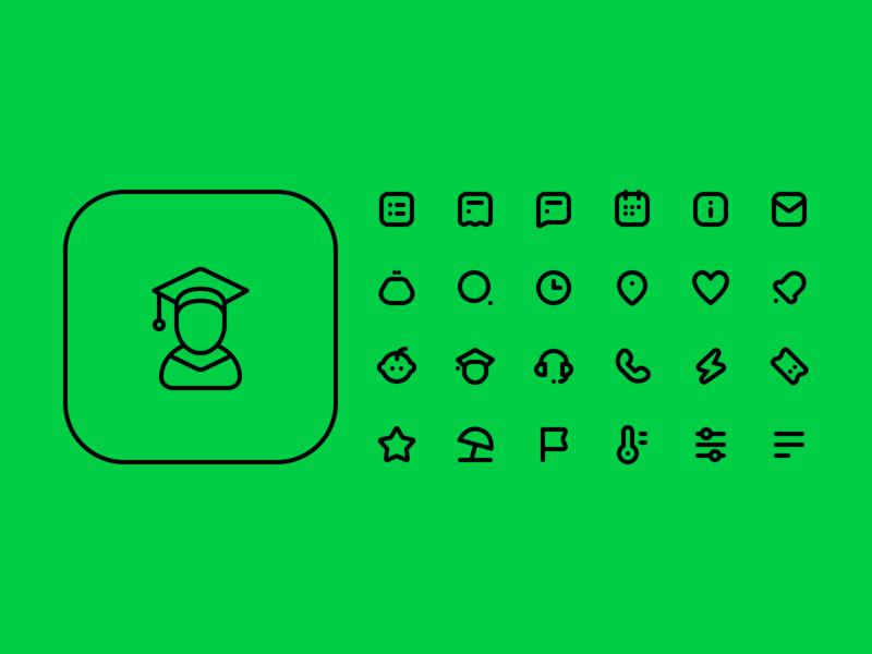 Kidsout icons