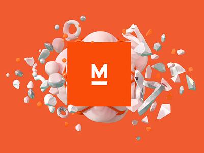 Myplanet - 3D Illustration 3d art poster cinema4d software studio tech digital art design geometric brand logo abstract render illustration 3d